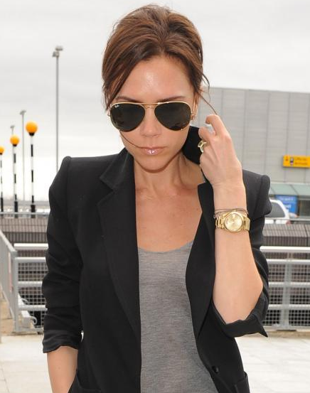 774490a152 Victoria Beckham in Ray Ban Sunglasses – Celebrity Sunglasses Watcher